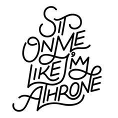 tumblr_m5iorhoyin1r6lngio1_500.jpg (JPEG Image, 500×500 pixels) #lettering #black #benny #arts #throne #custom #king