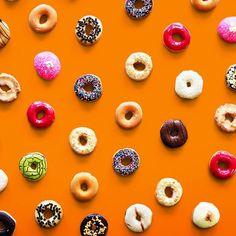 D-O-N-U-T. Get your sugar rush 🍩🍩🍩 ! #Doughnut #Donut #Sugar #Dessert #Sweet #Orange #realimage #social #branding #socialmedia #s