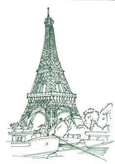 Travel Impressions from Austria | France #paris #eiffel #austria #france #art #tower #love #sketch