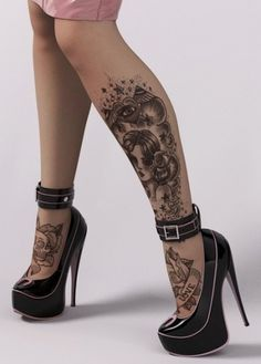 Ink'd Girls #tattoo