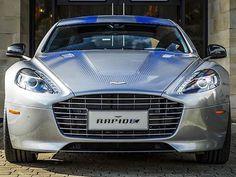 Aston Martin unveils electric concept RapidE #astonmartin #rapidE #electric #cars #luxury