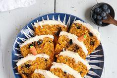 Blaubeer-Möhren-Kuchen
