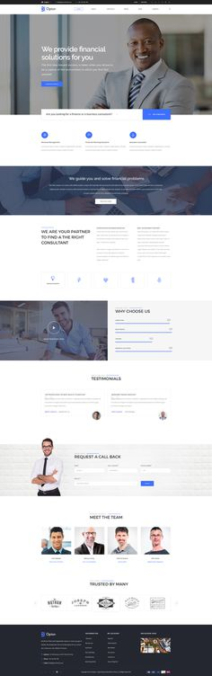 Opton - Multi-Purpose template