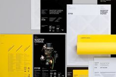 Rooftop Cinema | COÖP #print #branding