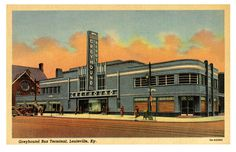 Greyhound Depot, Louisvilles, Kentucky, 1937