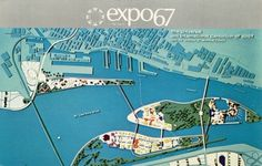 Beautiful expo67 flyer #plan #expo #montreal #flyer #67