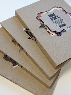 Book Covers by Katie Haynes, via Behance #book #cover #sleeve #kraft