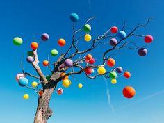 Carl Kleiner #balloons #tree