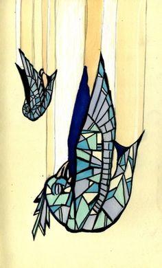 Alex.Hovey #painting #bird
