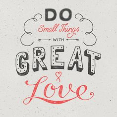 Great Love by Ian Barnard #handlettering #typography