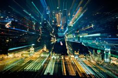 Фотограф Jakob Wagner #motion #city #exposure #light #long #dark #trails
