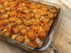 Cowboy casserole (Tatertot casserole) #potato