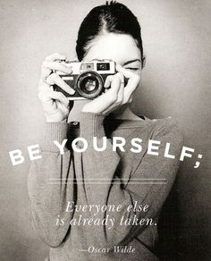 THOUGHT FOR THE WEEKEND   THE STYLE FILES #quote #photography #portrait
