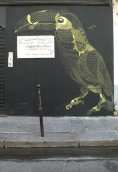 IdN™ Creators® — Philippe Baudelocque (Paris, France) #tucan #mural #art #street