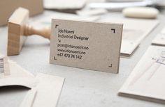 Ida Noemi | Christian Bielke #print #branding #identity #stationery