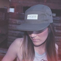 Bare & Hatchet 5 Panel #panel #girl #apparel #women #cap #hat #5 #fashion #typography