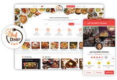 Our recent success story of designing logo, website, and mobile app for 'Chef Diner' (an Online Chef Booking Portal for House Warming Gatherings) made us believe that we can create wonders.