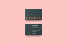 Dmowski & Co. designed the minimal brand identity for Studio, a Warsaw-based company offering a comprehensive turnkey interior finishing service.