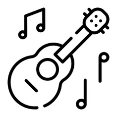 See more icon inspiration related to music and multimedia, ukelele, string instrument, music notes, musical instrument, orchestra and music on Flaticon.