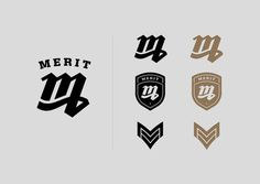Merit Identity #modern #2013 #design #graphic #identity