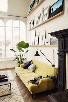 interior design, decoration, decor, deco #yellow