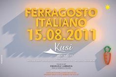 Francesco Vetica | Designer | Kusi #disco #events #flyer #design #adv #grahic #poster #music #party