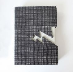 Handbound Notebooks on the Behance Network #thunderbolt #notebook #handbound #craft