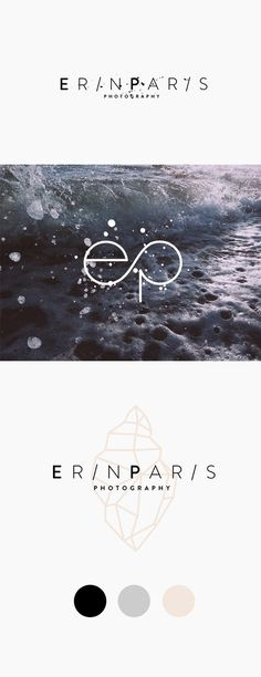 NEW IN PORTFOLIO: ERIN PARIS #inspiration #logo #design #identity