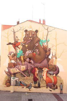 """Tribute to the iberian wildlife"""