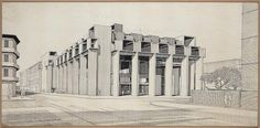 Yale Art and Architecture building, 1959 by Paul Rudolph
