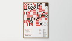 Visual Grammar - Leterme Dowling #grid #shapes #poster #geometric