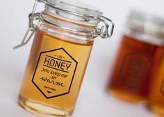 Branding and packaging design for Oh Honey honey. Fictitious project.