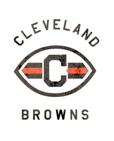 CLEVELAND - Gridiron League #gridiron #design #graphic #league #logo #cleveland #browns