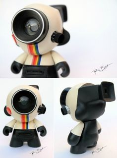 Toys / Albotas - Geek sh*t for cool kids. — Daily Geekstomization: This brilliantly ex #hack #instagram #camera #munny #mod #toy