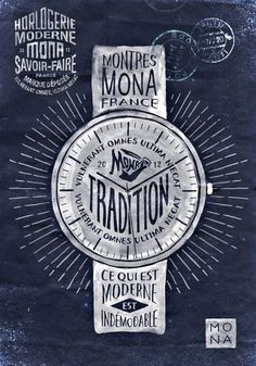 MONA by BMD Design | Incredible Types #artwork