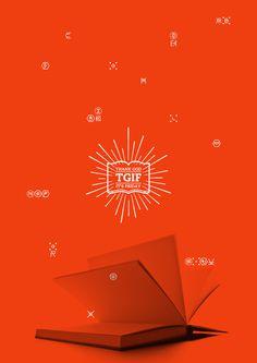 TGIF ! EXHIBITION VISUAL IDENTITY on the Behance Network #print #logo #brand