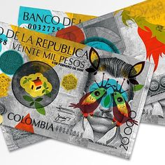 FFFFOUND! | Amnesty International Bank Notes « TYPOZON #note #bank