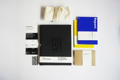 Portfolio pack on the Behance Network #blue #soy #black