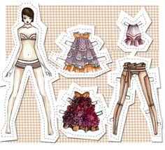 paper doll - Google Search #paper #doll