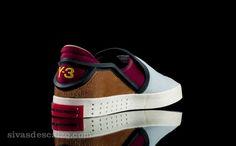 Y-3 Laver Slip On W Cardinal & True Blue Y3 #slip-on #y-3 #shoe