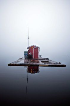 Lobster Cars: The Ice Fishing Houses by Chris Becker