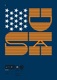 Eniac Pro Exclusive Typeface for HypeForType, 2010. on Behance #orange #stars #contrast #slab #usa #reverse #blue