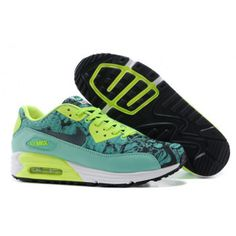 Nike 90 Air Max Womens 2015 Easter Fluorescent Green