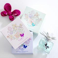 ZARA Woman Perfume — The Dieline #perfume