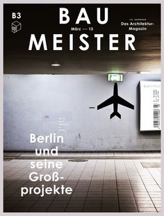 Bau Meister (Munich, Allemagne / Germany) #design #graphic #cover #editorial #magazine