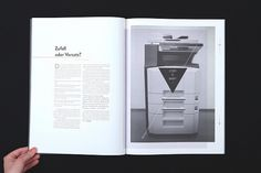 Gestalterkrankheiten on the Behance Network / Bench.li #layout #book #magazine #typography