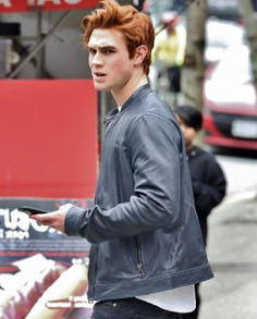Riverdale Series Archie Andrews Leather Jacket (4)