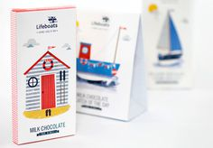 RNLI - Packaging - Vicki Turner #packaging #illustration