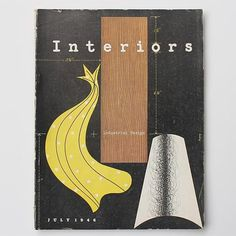 Interiors designed by Alvin Lustig #inspiration #design