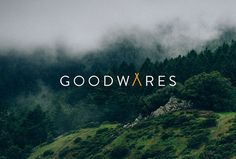 Goodwares by Nine Sixty #logo #logotype #mark #symbol